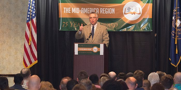 Mid-America Region's 75 Years and Onward Day in the Word