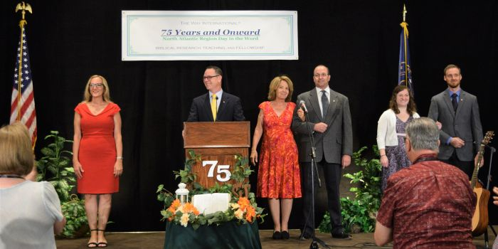 North Atlantic Region's 75 Years and Onward Day in the Word