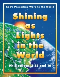 Shining as Lights in the World—The Way International theme poster for 2020-2021 in English