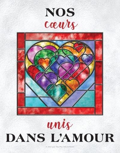 Nos coeurs unis dans l'amour